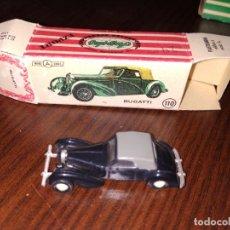 Coches a escala: ANGUPLAS MINI CARS MINICARS BUGATTI. Lote 174819809
