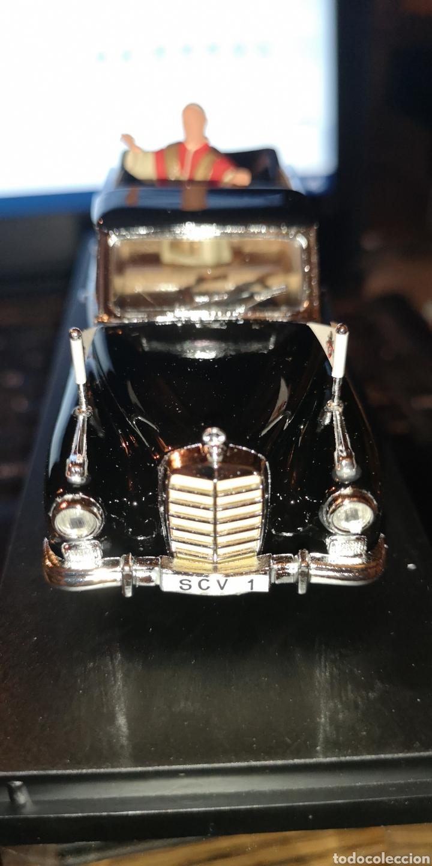Coches a escala: Vehículo papal marca Mercedes de la casa río - Foto 2 - 175145215