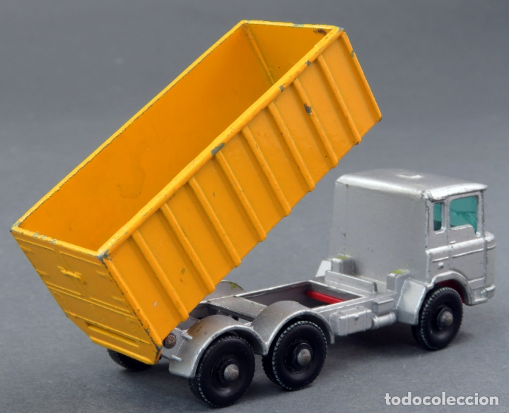 Coches a escala: Tipper Container Truck Lesney Matchbox nº 47 años 60 - Foto 2 - 175423975