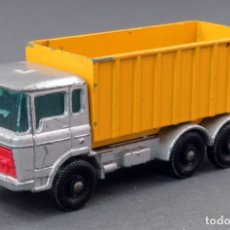 Coches a escala: TIPPER CONTAINER TRUCK LESNEY MATCHBOX Nº 47 AÑOS 60 . Lote 175423975