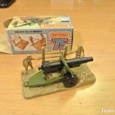Coches a escala: MATCHBOX 32 FIELD GUN. Lote 175533910
