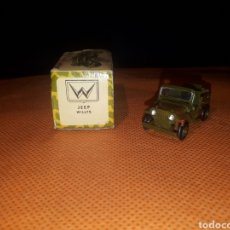 Coches a escala: ANGUPLAS MINICARS JEEP WILLYS. Lote 175535185