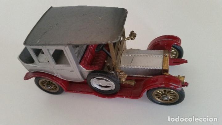Coches a escala: ANTIGUIO COCHE PARA COLECION ,1912 ROLLS-ROYCE MODELO MARTCHBOX YESTERYEAR - Foto 2 - 175545868