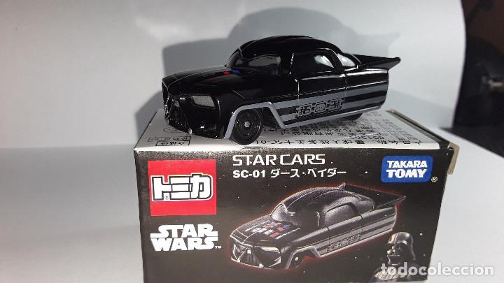 STAR CARS -DARTH VADER-STAR WARS-TAKARA-TOMICA-1/64-MADE IN VIETNAN- (Juguetes - Coches a Escala Otras Escalas )