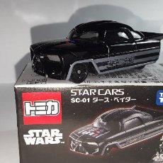 Coches a escala: STAR CARS -DARTH VADER-STAR WARS-TAKARA-TOMICA-1/64-MADE IN VIETNAN-. Lote 175608020