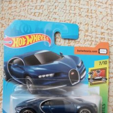 Coches a escala: HOT WHEELS 16 BUGATTI CHIRON BLUE. Lote 175672232