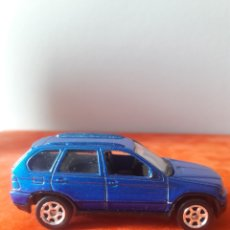 Coches a escala: BMW X5 ESCALA 1/64 WELLY RUEDAS DE GOMA. Lote 175901744