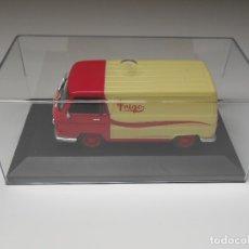 Coches a escala: 2798 COCHE FURGONETA DKW F1000 FRIGO METAL MODEL CAR VAN MINIATURE 1/43 1:43. Lote 176401799