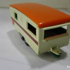 Coches a escala: TRAILER CARAVAN, Nº 57, MATCHBOX, MADE IN ENGLAND BY LESNEY. Lote 176750853
