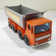 Coches a escala: 8 WHEEL TIPPER, Nº 51, MATCHBOX, MADE IN ENGLAND BY LESNEY. Lote 176753763