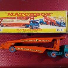 Coches a escala: MATCHBOX CAR TRANSPORTER A LESBEY PRODUCT. K 8CON CAJA.. Lote 176755813