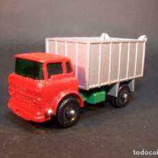 Coches a escala: MATCHBOX SERIES. Nº 26. GMC TIPPER TRUCK. MADE IN ENGLAND. 52 G. 6,5 CM. ESTADO 9 SOBRE 10.. Lote 177071765