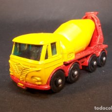 Coches a escala: MATCHBOX SERIES. Nº 21. FODEN CONCRETE TRUCK. MADE IN ENGLAND. 49 G. 7 CM. ESTADO 9 SOBRE 10.. Lote 177072174