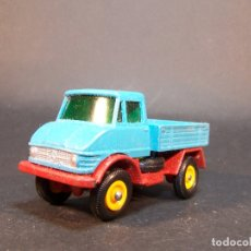 Coches a escala: MATCHBOX SERIES. Nº 49. UNIMOG. MADE IN ENGLAND. 47 G. 6 CM. ESTADO 7 SOBRE 10.. Lote 177072379