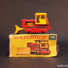 Coches a escala: MATCHBOX SERIES. Nº 16. CASE TRACTOR. LESNEY. MADE IN ENGLAND. 46 G. 6 CM. ESTADO 9 SOBRE 10.. Lote 177075409
