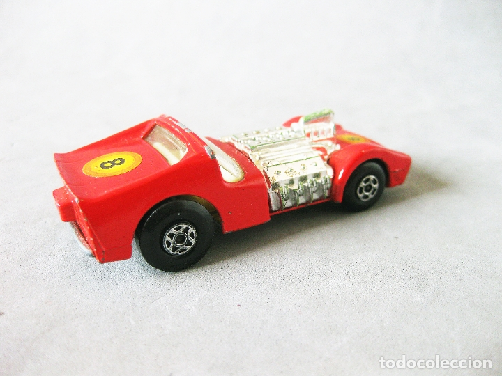 Coches a escala: COCHE O AUTOMOVIL MATCHBOX SERIES ROAD DRAGSTER Nº 19. 1970 LESNEY PRODUCTS SUPERFAST - Foto 2 - 177312600