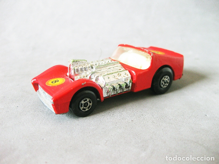 COCHE O AUTOMOVIL MATCHBOX SERIES ROAD DRAGSTER Nº 19. 1970 LESNEY PRODUCTS SUPERFAST (Juguetes - Coches a Escala Otras Escalas )