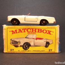 Coches a escala: MATCHBOX. Nº27. MERCEDES BENZ SL. . MADE IN ENGLAND. 43 G. ESTADO 7 SOBRE 10.. Lote 177398714