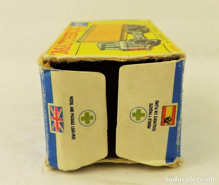 Coches a escala: Matchbox nº 47 Camión contenedor basculante con caja (Falta una solapita) - Foto 6 - 177675907