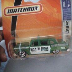 Coches a escala: MATCHBOX 42 (2006) CHECKER METRO TAXI . Lote 177676248
