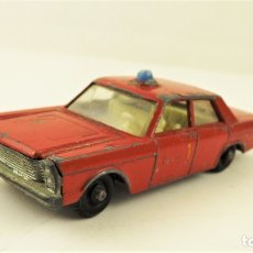 Coches a escala: MATCHBOX LESNEY FORD GALAXIE ESCALA 1/70. Lote 177706468