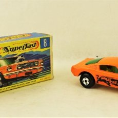Coches a escala: MATCHBOX LESNEY Nº 8 WILD CAT DRAGSTER. Lote 177715165