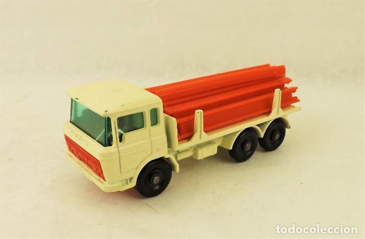 Coches a escala: Matchbox Lesney nº 58 Daf Girder Truck - Foto 2 - 177715257