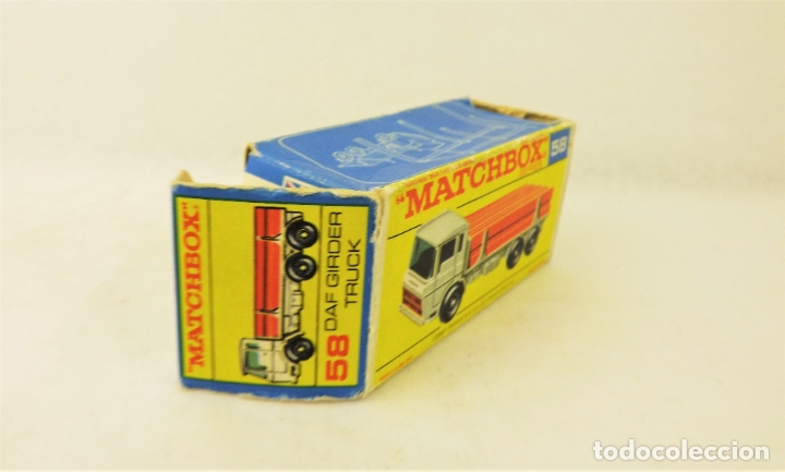 Coches a escala: Matchbox Lesney nº 58 Daf Girder Truck - Foto 6 - 177715257