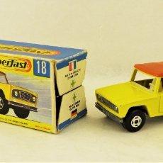Coches a escala: MATCHBOX LESNEY Nº 18 FIELD CAR. Lote 177715399