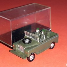 Coches a escala: LAND ROVER MILITAR REF. 4023, PLÁSTICO ESC. 1/87 H0, EKO MADE IN SPAIN, ORIGINAL AÑOS 60.. Lote 177729775