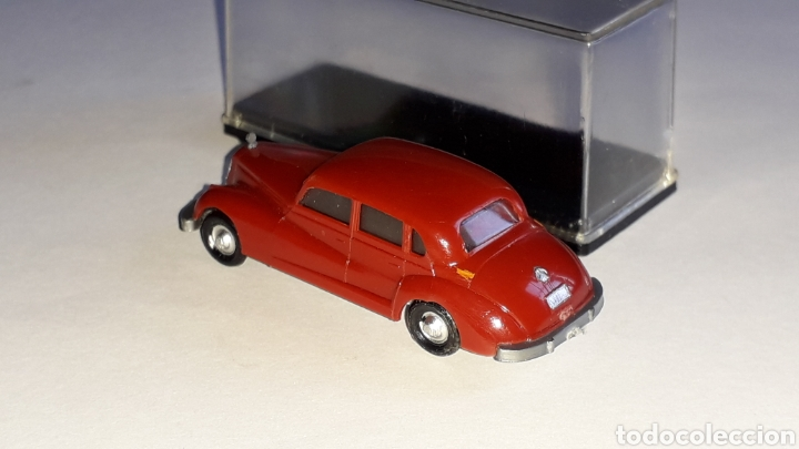 Coches a escala: Mercedes 300 ref. 2003, plástico esc. 1/87 H0, EKO made in Spain, original años 60. - Foto 4 - 177733049