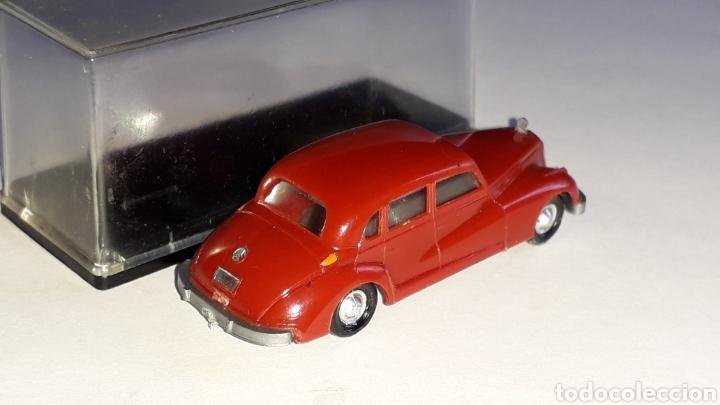 Coches a escala: Mercedes 300 ref. 2003, plástico esc. 1/87 H0, EKO made in Spain, original años 60. - Foto 5 - 177733049