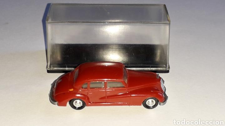 Coches a escala: Mercedes 300 ref. 2003, plástico esc. 1/87 H0, EKO made in Spain, original años 60. - Foto 6 - 177733049
