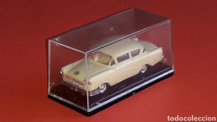 Coches a escala: Opel Rekord ref. 2039, plástico esc. 1/87 H0, EKO made in Spain, original años 60. - Foto 5 - 177738352