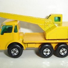 Coches a escala: CAMION GRUA DODGE CRANE MATCHBOX LESNEY SUPERFAST NUMERO 63. Lote 177820514