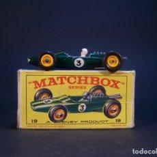 Coches a escala: MATCHBOX SERIES. Nº 19. LOTUS. MADE IN ENGLAND. 23 G. 7 CM. ESTADO 6 SOBRE 10.. Lote 178220867