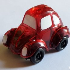 Coches a escala: RARE VW VOLKSWAGEN BEETLE KAFER GO BUG SHARPENER, PLÁSTIC 5 CMS, TAFAIR HONG KONG, ORIGINAL AÑOS 80.. Lote 178247771