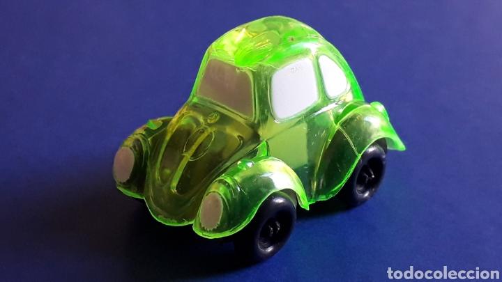 Coches a escala: Rare VW Volkswagen Beetle Kafer Go Bug Sharpener, plástic 5 cms, Tafair Hong Kong, original años 80. - Foto 2 - 178248475