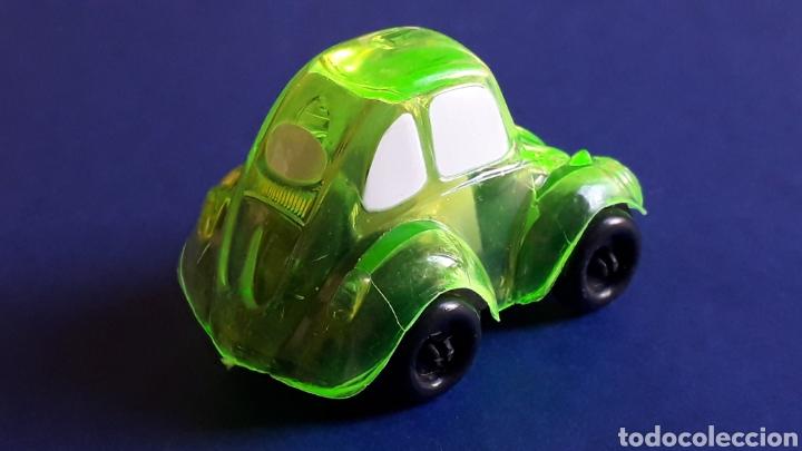 Coches a escala: Rare VW Volkswagen Beetle Kafer Go Bug Sharpener, plástic 5 cms, Tafair Hong Kong, original años 80. - Foto 3 - 178248475