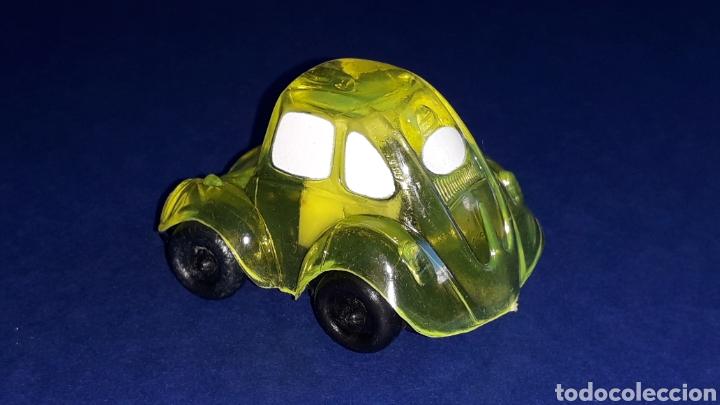 Coches a escala: Rare VW Volkswagen Beetle Kafer Go Bug Sharpener, plástic 5 cms, Tafair Hong Kong, original años 80. - Foto 3 - 178248558