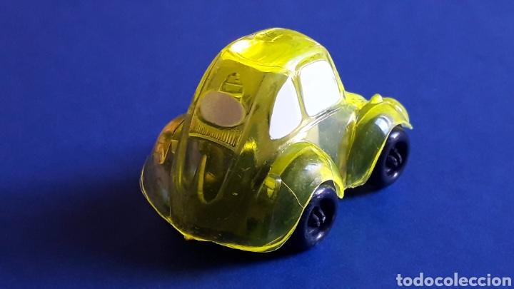 Coches a escala: Rare VW Volkswagen Beetle Kafer Go Bug Sharpener, plástic 5 cms, Tafair Hong Kong, original años 80. - Foto 4 - 178248558