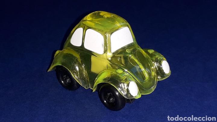 Coches a escala: Rare VW Volkswagen Beetle Kafer Go Bug Sharpener, plástic 5 cms, Tafair Hong Kong, original años 80. - Foto 6 - 178248558