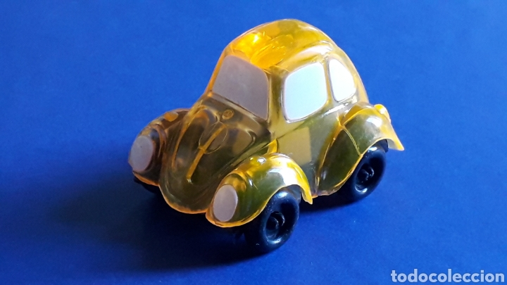 Coches a escala: Rare VW Volkswagen Beetle Kafer Go Bug Sharpener, plástic 5 cms, Tafair Hong Kong, original años 80. - Foto 2 - 178248742