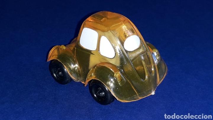 Coches a escala: Rare VW Volkswagen Beetle Kafer Go Bug Sharpener, plástic 5 cms, Tafair Hong Kong, original años 80. - Foto 4 - 178248742