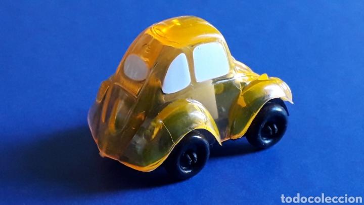 Coches a escala: Rare VW Volkswagen Beetle Kafer Go Bug Sharpener, plástic 5 cms, Tafair Hong Kong, original años 80. - Foto 5 - 178248742