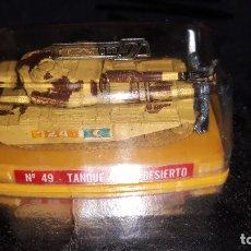 Coches a escala: GUISVAL-TANQUE MK III DESIERTO-NUMERO 49-AÑOS 80. Lote 178279027