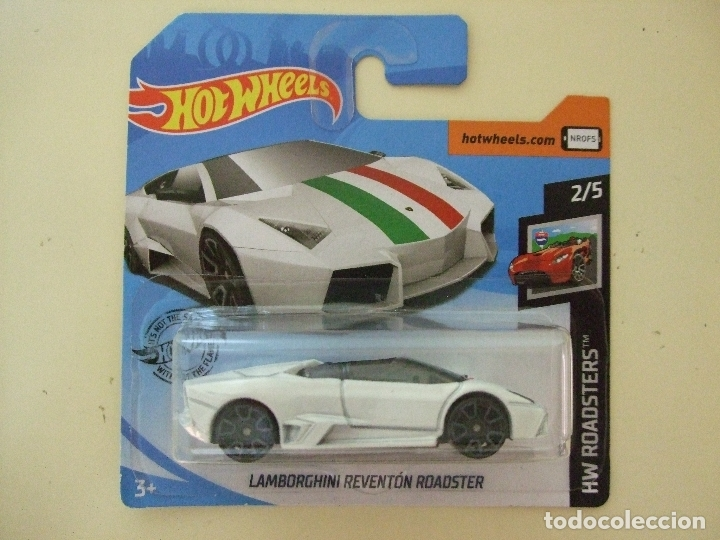 Hot Wheels Factory Sealed 2019 HW Roadsters #2//5 Lamborghini Reventio