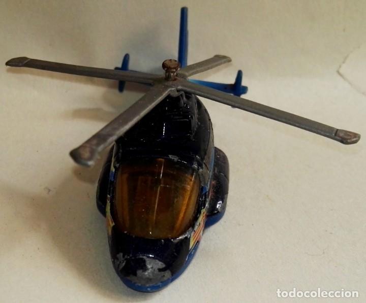 Coches a escala: Helicóptero en miniatura - Matchbox, 2002 - Foto 3 - 178959983