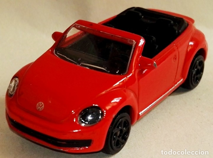 Coches a escala: Coche en miniatura - Majorette, VW Beetle - Foto 2 - 178960946