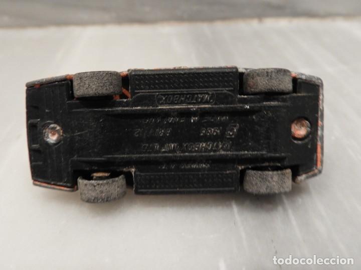 Coches a escala: COCHE MINIATURA - SUPER GT - MATCHBOX - 1985 - Foto 3 - 179004080